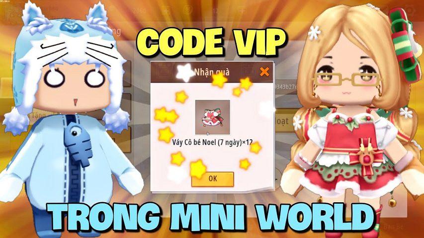 code mini world