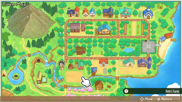 hướng dẫn harvest moon friends of mineral town